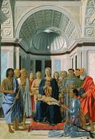 Алтарь Монтефельтро (П. делла Франческа)
