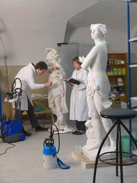 Реставрация мраморных скульптур