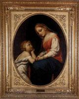 Богоматерь с младенцем (Ф.А. Бруни)