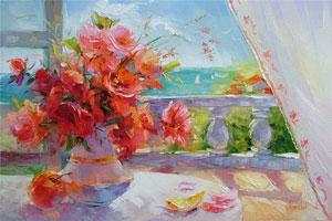 Цветы (Анна Хомчик)