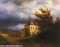 Перед грозой. 1850