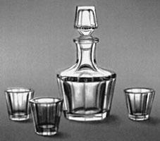 Приборы для водки (Б.А. Смирнов, 1949 г.)
