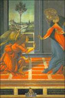 Благовещение (Боттичелли, 1490 г.)