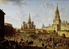 Алексеев Ф.Я. Красная площадь в Москве. 1801