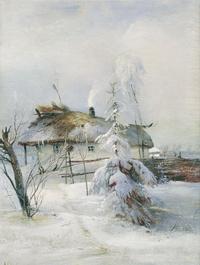 Зима (А. Саврасов)
