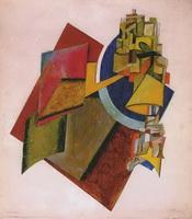 Композиция (А.М. Родченко, 1917 г.)