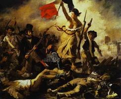 Свобода, ведущая народ (Э. Делакруа, 1830 г.)