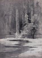Ранняя весна. Лесная глушь. 1884