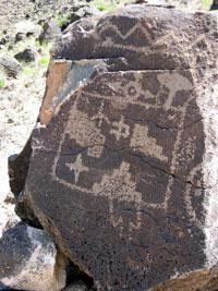 Газетный камень (петроглиф, США)