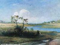 Окрестности села Михайловского Псковской области. 1880-е