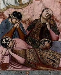 Спящие стражники (Джотто ди Бондоне)
