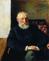 Портрет Н.П. Панафидина (И.И. Левитан)