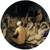 Турецкие бани (Ж.О.Д. Энгр, 1862 г.)