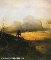 Могила на Волге. 1874