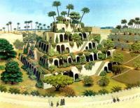 Висячие сады Семирамиды в Вавилоне