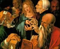 Дюрер Альбрехт. Христос среди книжников