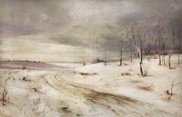 Зимняя дорога. 1870-е