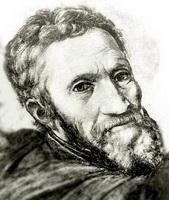 Портрет Микеланжело Буонарроти
