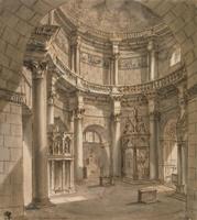 Храм Юпитера во дворце Диоклетиана в Спалато