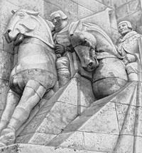 Комплекс братского кладбища в Риге
