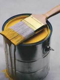 Промышленная масляная краска