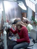 Реставрация станковой масляной живописи