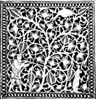 Шкатулка-платочница (А.И. Вепрев)