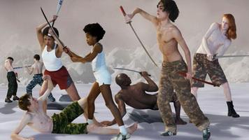 Последнее восстание (видеоинсталляция, 2007 г.)