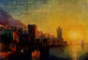 Остров Родос (И.К. Айвазовский, 1861 г.)