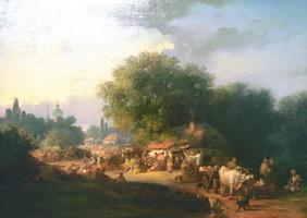 Ярмарка в Малороссии (К.А. Трутовский, 1860-е)