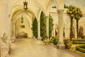 Ливадийский дворец (Е.О. Тыренко)