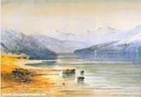 Горное озеро. Швейцария. 1864