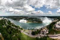 Ниагарский водопад с высоты птичьего полета (Егор Украинцев)