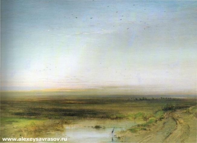 Закат. 1870-е