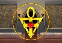 Символы ордена - Роза и Крест