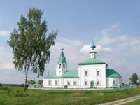 Церковь Иоанна Богослова в Стебачево