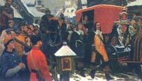 Въезд иностранного посольства в Москву XVII века (Ю. Кугач)