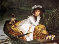 Репродукции. Молодая Леди в лодке.