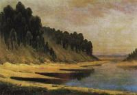 Лесистый берег реки Москвы, 1859