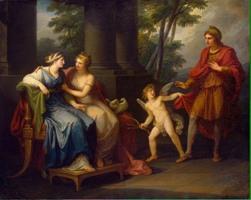 Cвадьба героя Пелея и морской богини Фетиды