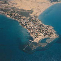 Измир (фото со спутника)