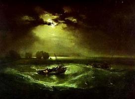 Рыбаки на море (У. Тернер, 1796 г.)
