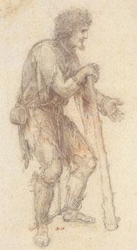 Колодник с дубиной (Л. да Винчи)