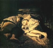 Спящие дети (В.Г. Перов, 1870 г.)