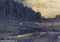 Лосиный остров в Сокольниках. 1869