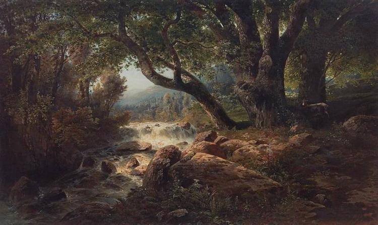 Водопад. 1868