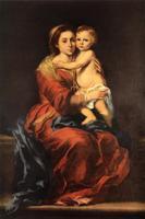 Мадонна с Младенцем Христом и Четками Розария