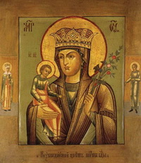 Икона Богоматери Неувядаемый Цвет