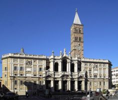 Церковь Санта-Мария-Маджоре в г. Рим
