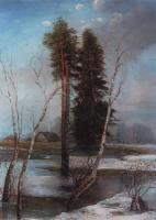 Ранняя весна. 1888
